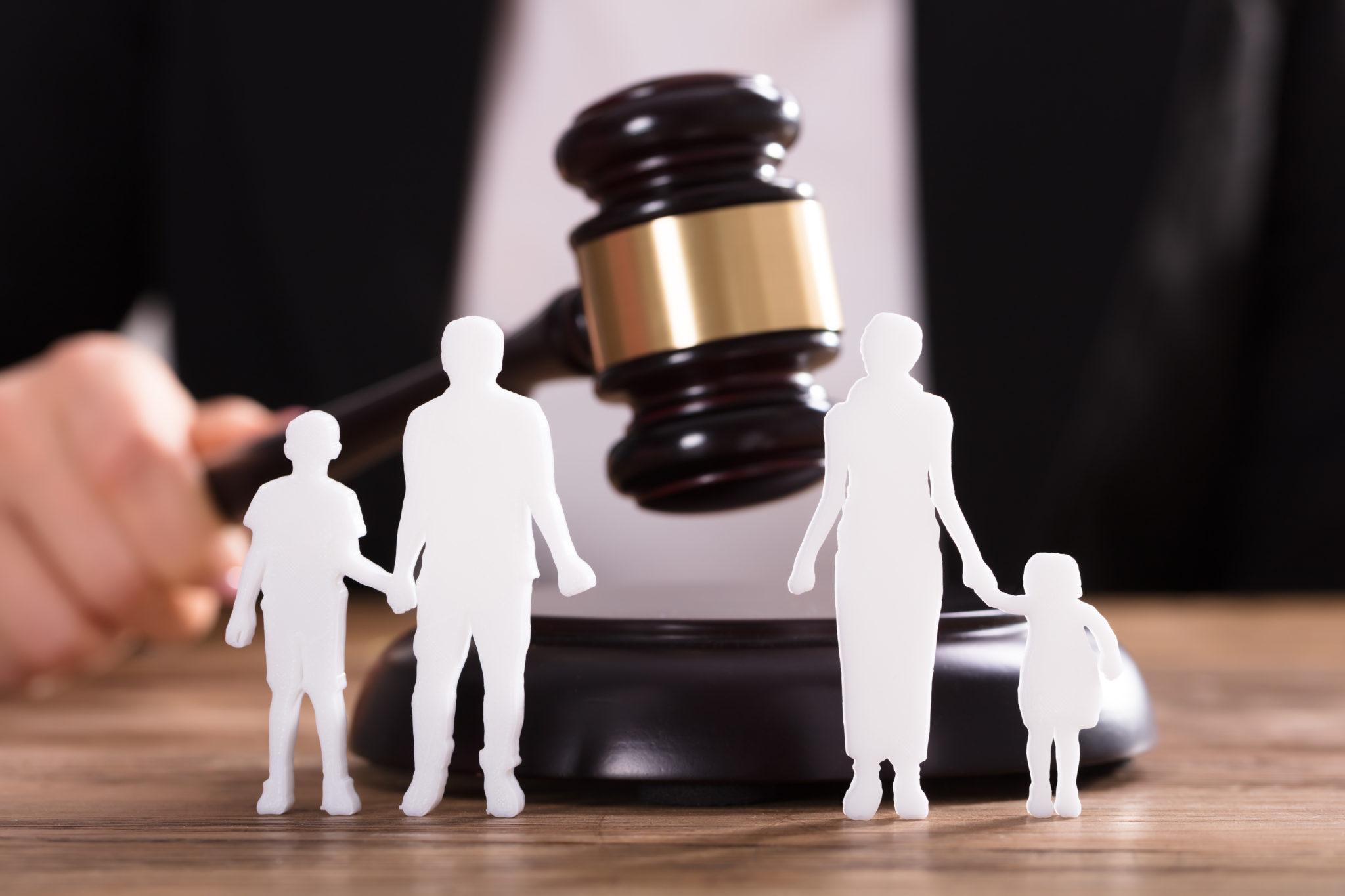 споры о детях в суде